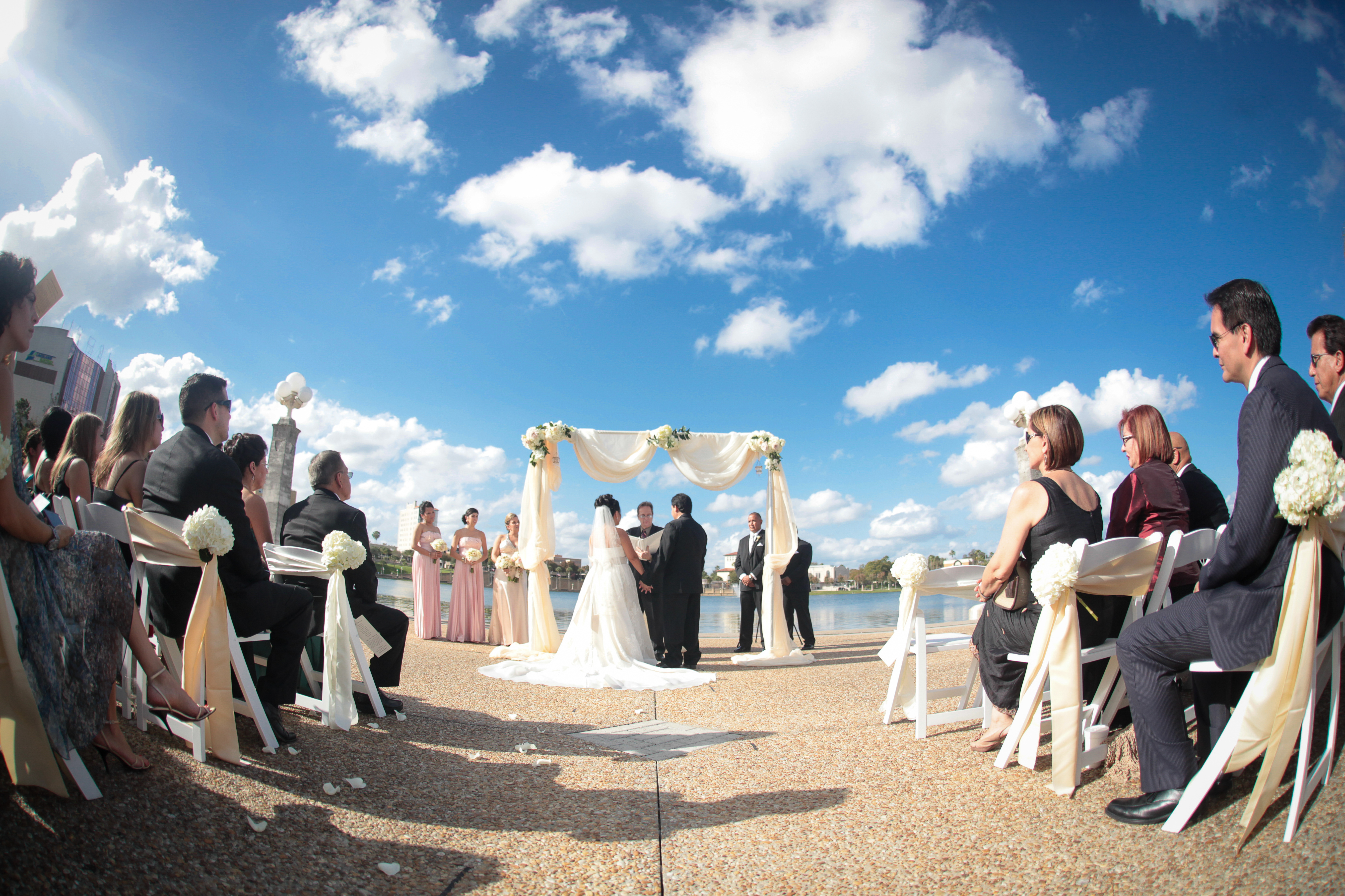 Unique wedding giuliana and jesus at the lake mirror amphitheater 7 lake mirror ampitheater magnolia building wedding unique weddings junglespirit Choice Image