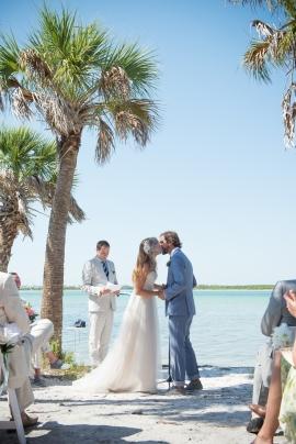 Unique Wedding Amanda And Arthur At Fort Desoto Tampa